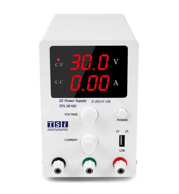 منبع تغذیه سوئیچینگ 30 ولت 10 آمپر متغیر TSi TPS-3010U