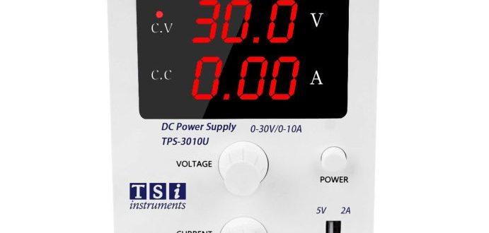 منبع تغذیه سوئیچینگ ۳۰ ولت ۱۰ آمپر متغیر TSi TPS-3010U